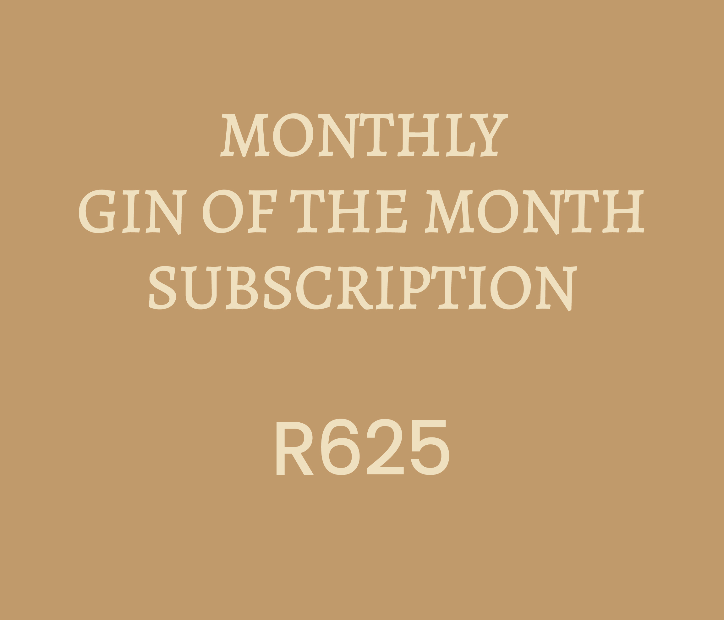 GIN OF THE MONTH CLUB