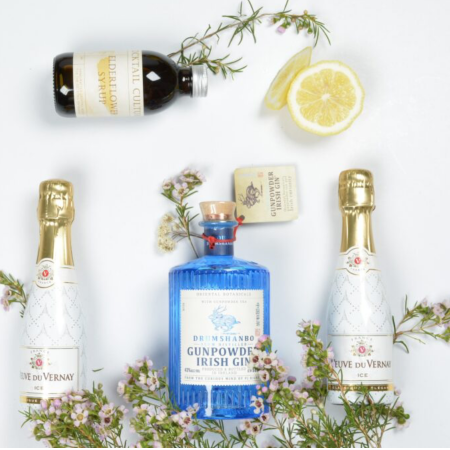 Elderflower French 75 Gin Cocktail Kit